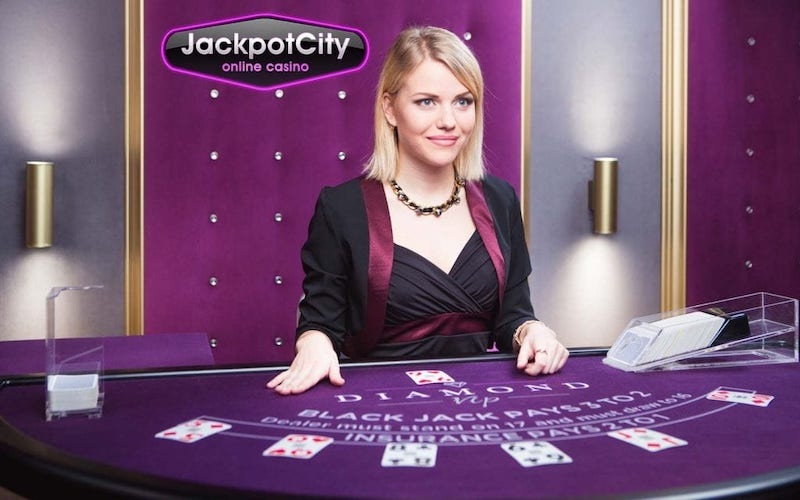 Jackpot City live casino games