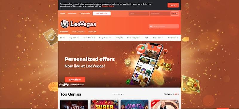 LeoVegas Canada Review