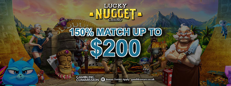 Lucky Nugget Bonuses 2019