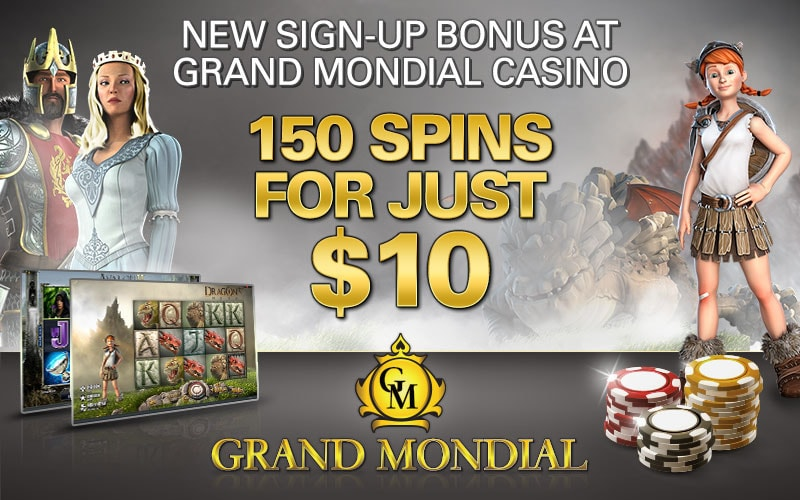 Grand Mondial 150 Free Spins