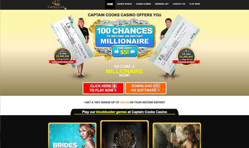 Captain Cooks Casino Review 2019
