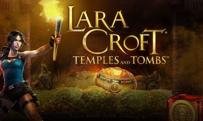 Play Lara Croft Slot at Ruby Fortune