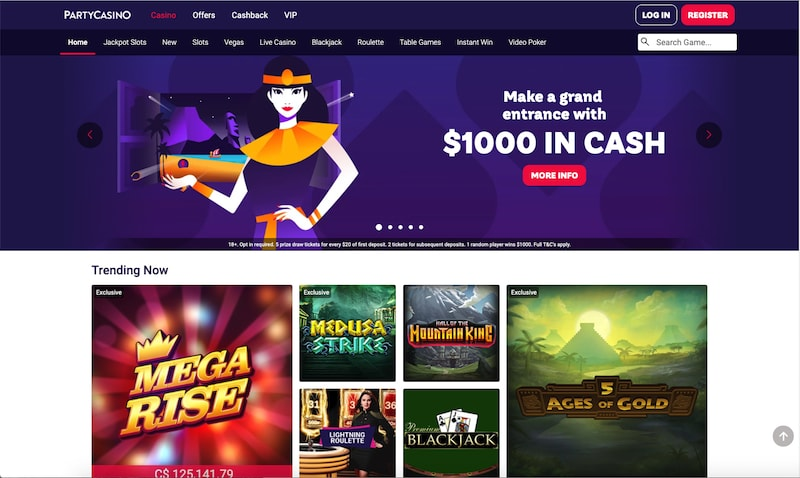 Party Casino Canada Review