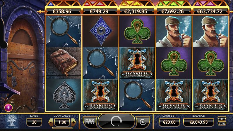Play Holmes Slot at Casino Room