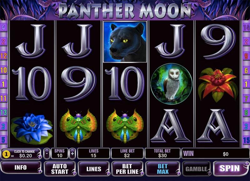 Panther Moon Slot Bonus
