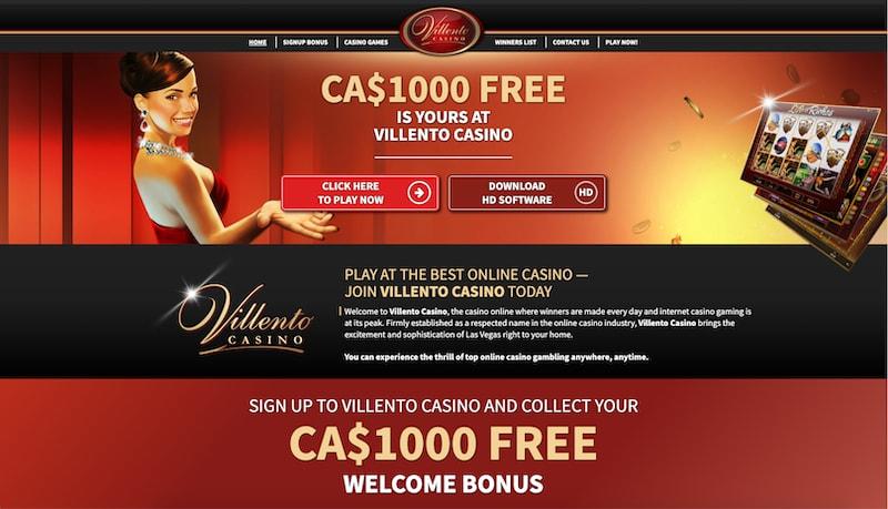 Villento Casino Canada Review