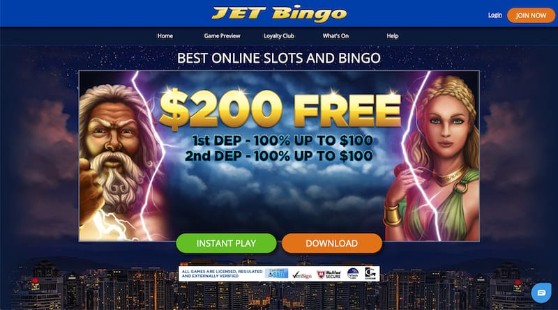 Jet Bingo My Account