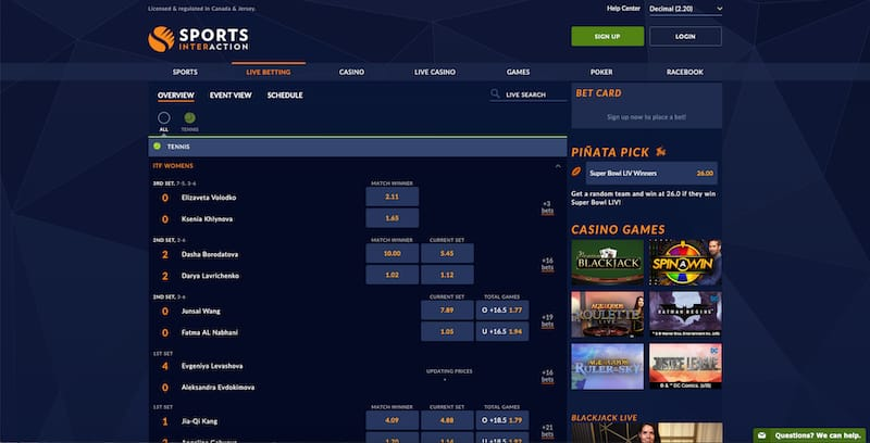Sports interactive betting crown sports bet