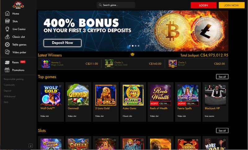 Casino Moons Canada Review
