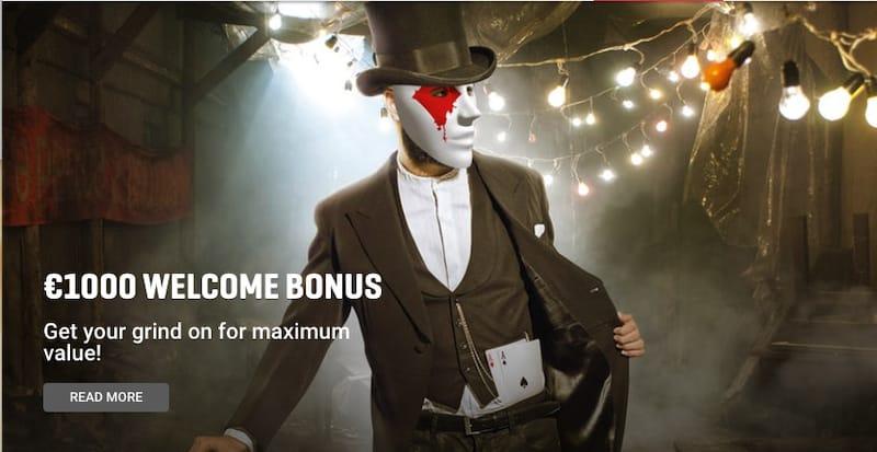 Guts €1000 Poker Bonus