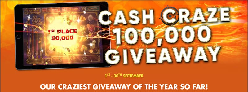 Rich Casino Cash Craze Giveaway