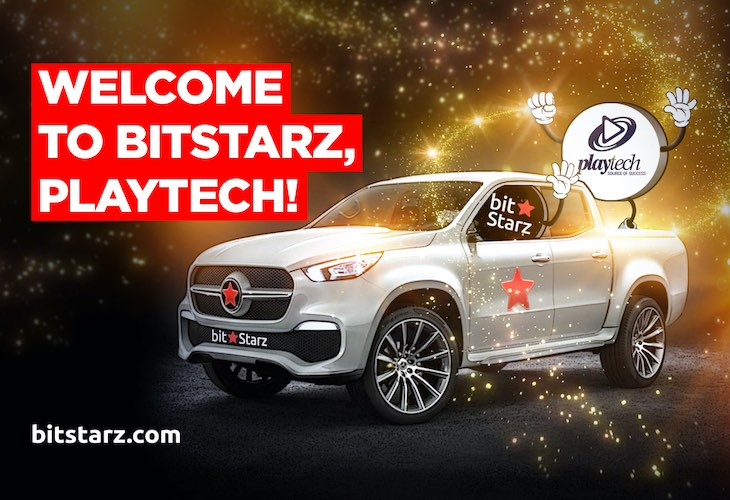 Playtech finally joins Bitstarz
