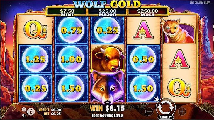 Thebes Casino Wolf Gold Slot