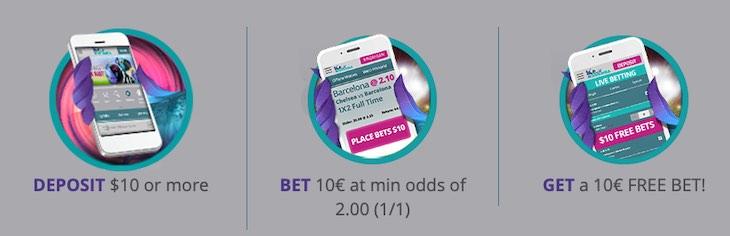 Karamba $10 Free Bet