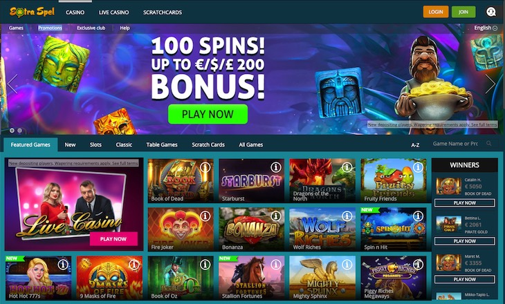 Extra Spel Casino Review
